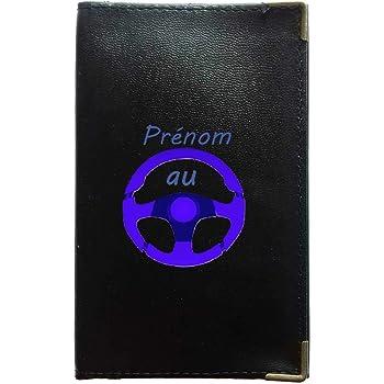 Sylla Super Pecheur Etui Protection Porte Carte Grise papiers Voiture permis de Conduire Noir