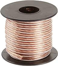 C2G 40528 18 AWG Bulk Speaker Wire, Clear Jacket (25 Feet, 7.62 Meters)