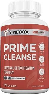 Prime Cleans Detoxification Pills - Perfect Detox Supplement to Accelerate Internal Detoxification for Women and Men