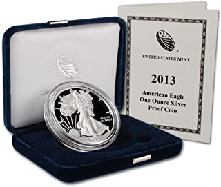 2013 W 2013 American Silver Eagle Proof 1 ounce silver coin West Point Dollar PF-1