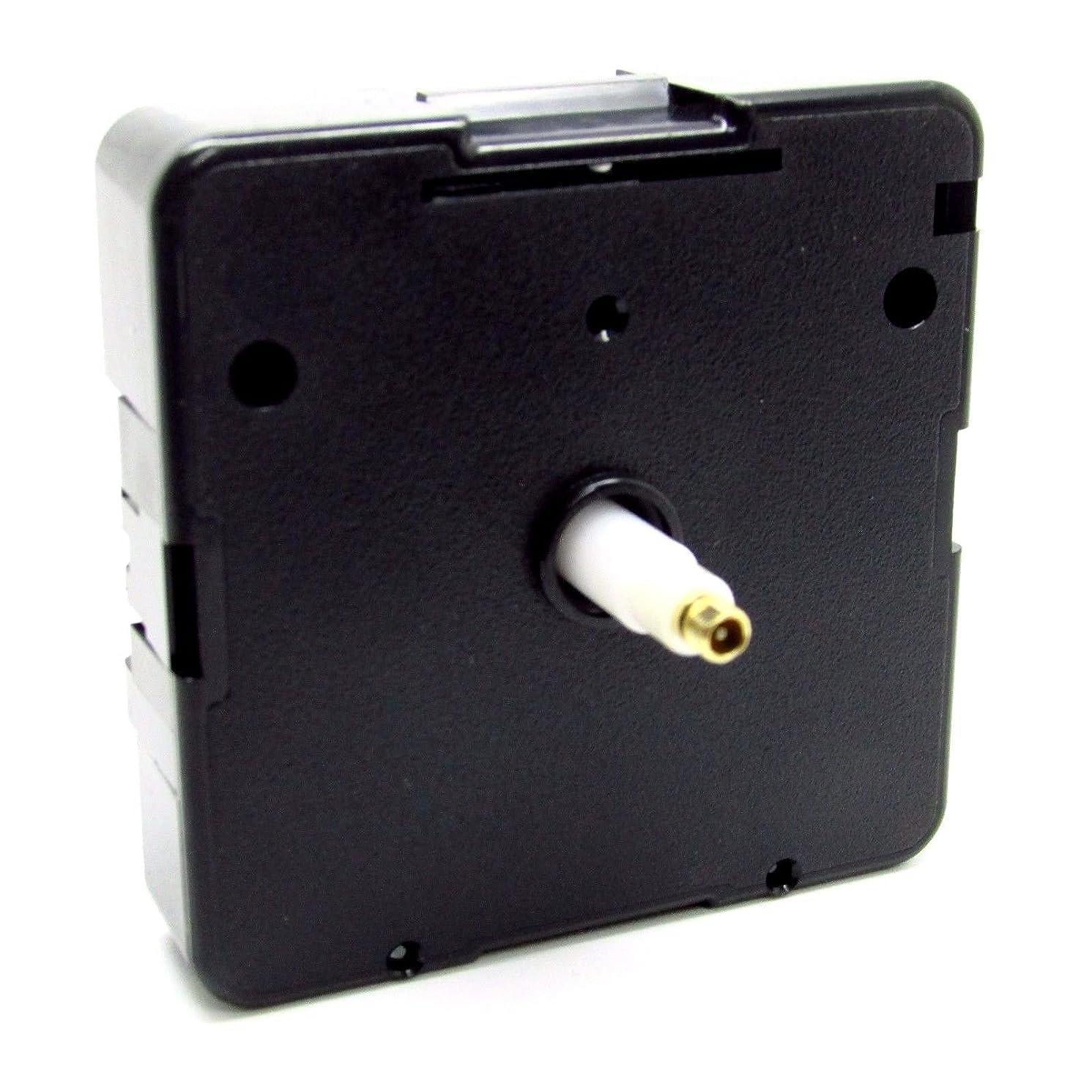 New Replacement UTS Quartz German Euroshaft Movement Mechanism Motor (16mm Shaft - Clock Faces 4-6mm Thick)
