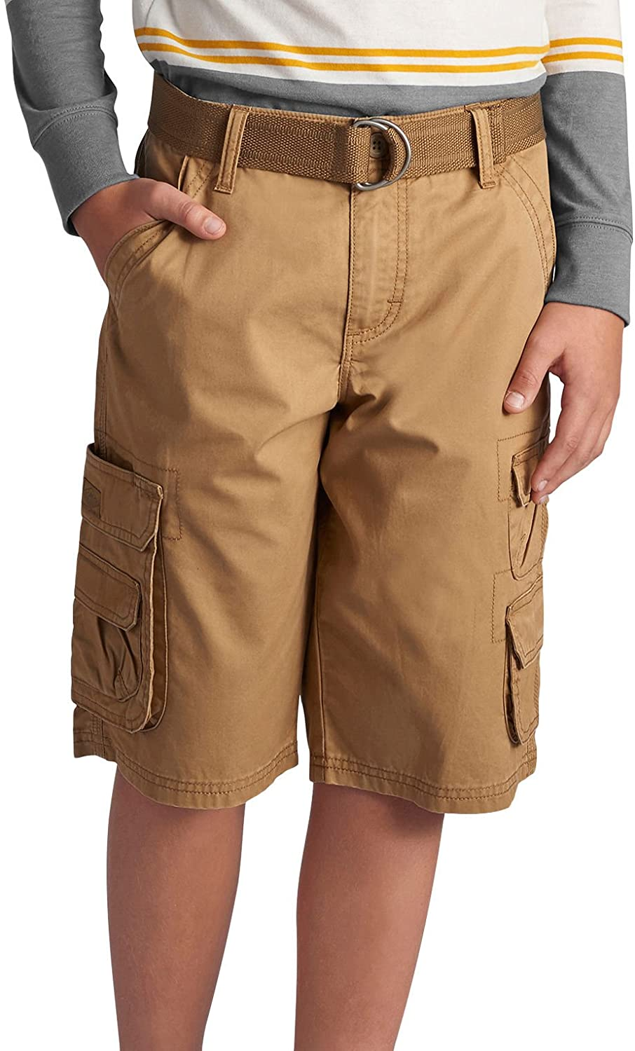 Lee Boys' Dungarees Belted Wyoming Cargo Short