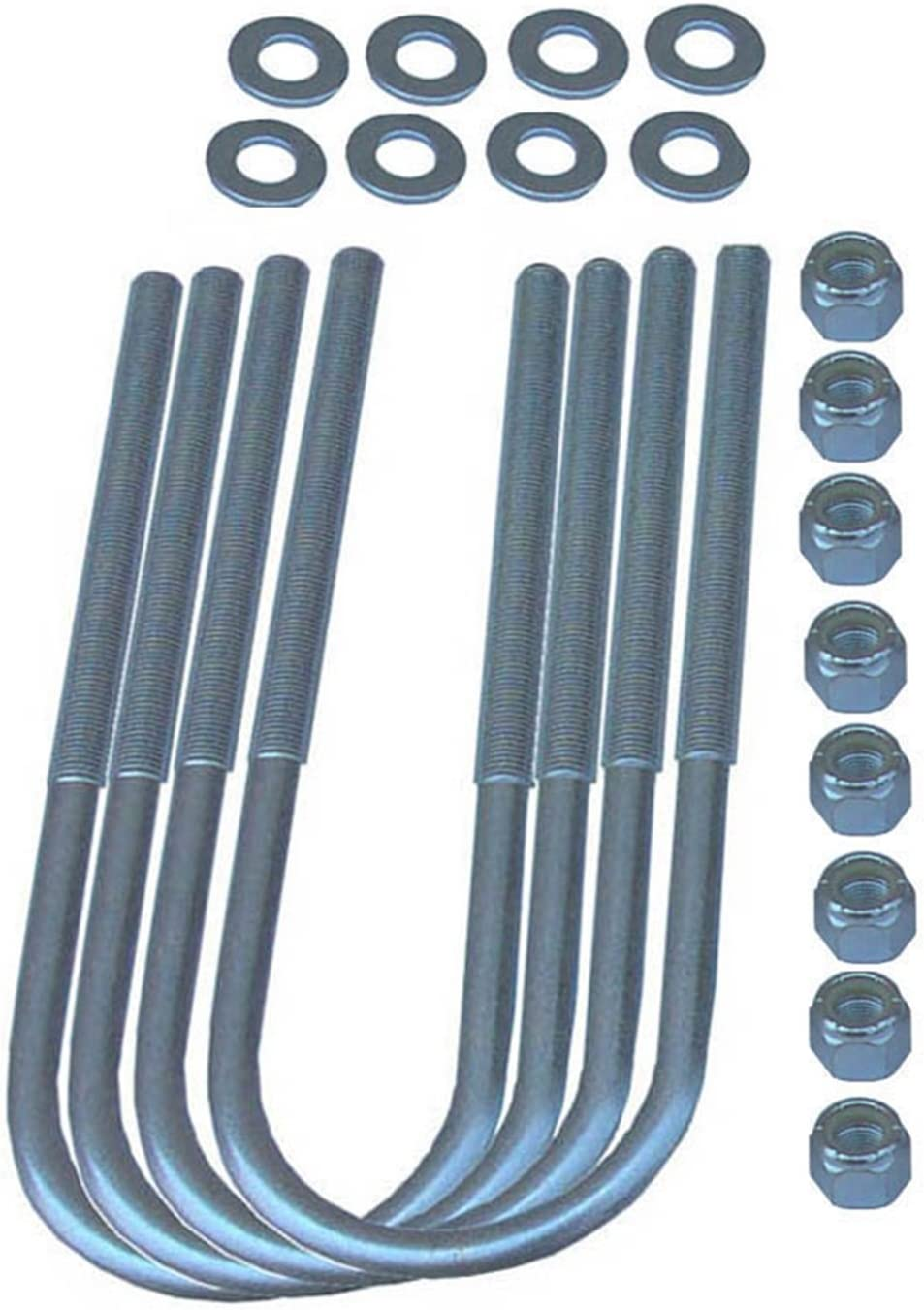 Rubicon Express RE2435 Free Shipping Dealing full price reduction New Front U-Bolt Kit CJ Jeep for