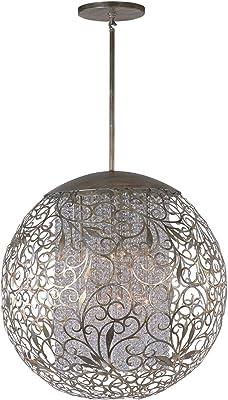 Amazon.com: Arturesthome - Lámpara colgante de madera: Home ...