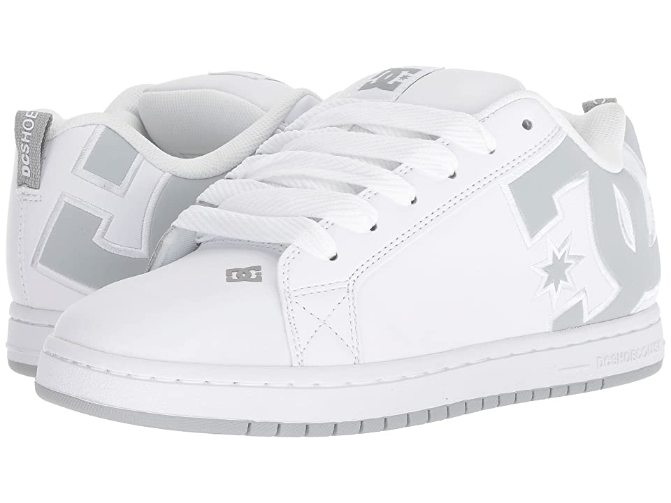 DC Court Graffik SE (White/Grey/Grey) Men