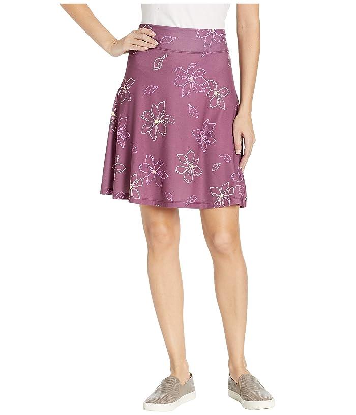 FIG Clothing May Skirt (Purple Magnolia) Women