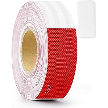 Film Safety Self Night Work Reflective Stripe Adhesive Sticker Tape Run Warning