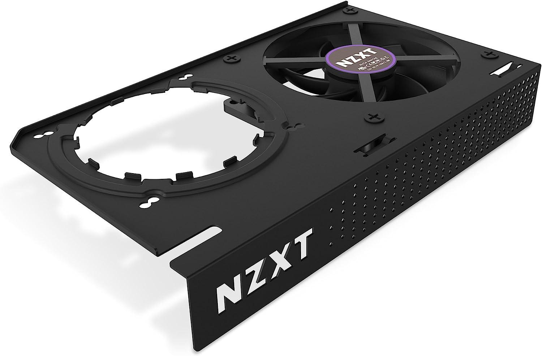NZXT Kraken G12 - Kit de montaje de GPU para AIO serie Kraken X - Enfriamiento mejorado de la GPU - Compatibilidad de GPU AMD y NVIDIA - Enfriamiento activo para VRM, negro