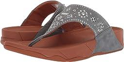 Lulu Aztek Stud Toe-Thong Sandals - Suede