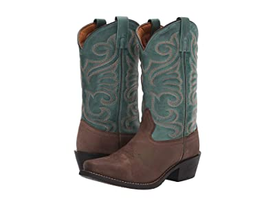 Laredo Sass (Brown/Turquoise) Cowboy Boots