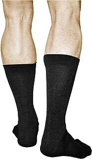 VITSOCKS Men's 80% MERINO Wool Warm Woolly Socks (2 PAIRS) Breathable Soft