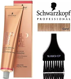 Schwarzkopf Professional Blond Me Blonde Toning (NEW VERSION - 2.1 oz); includes