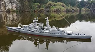 SOWOFA 1:360 Super Large Remote Control Warship Remote Control Boat Children's Electric Toy Ship Warship boy Super Large Speedboat Charging Aircraft Carrier Military Model Battle