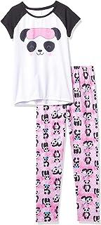 The Children's Place Girls Short Sleeve Panda Pajamas