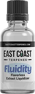 East Coast Terpenes - Fluidity Extract Diluent Liquidizer Unflavored - Natural Organic (1 ml)