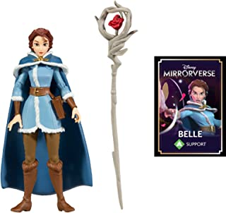 """McFarlane Toys Disney Mirrorverse 5"""" Belle Action Figure with Accessories"""