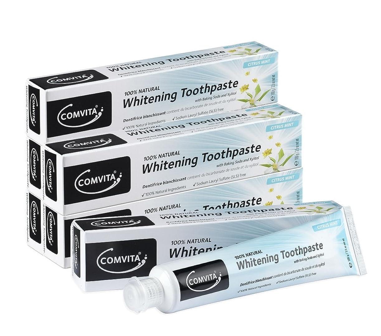 キャンペーンゆりかご困惑するホワイトニング歯磨き コンビタ 100g お得な6本セット whitening toothpaste