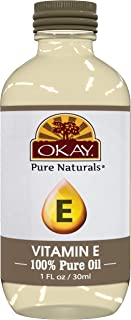 Okay | Vitamin E Oil | For All Hair Textures & Skin Types | Repair & Grow Strong Healthy Hair - Moisturize & Revitalize Sk...
