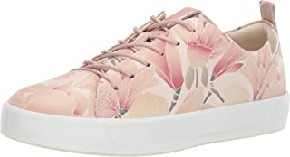 ECCO Womens 44079301118 Soft 8 Tie Pink Size: