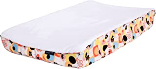 Ah Goo Baby 100% Cotton Changing Pad Cover, Universal Size, Poppy Pattern