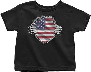 LeetGroupAU American Superheroes Toddler T-Shirt