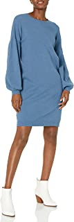 The Drop Women's Aiko Puff-Sleeve Sweater Dress