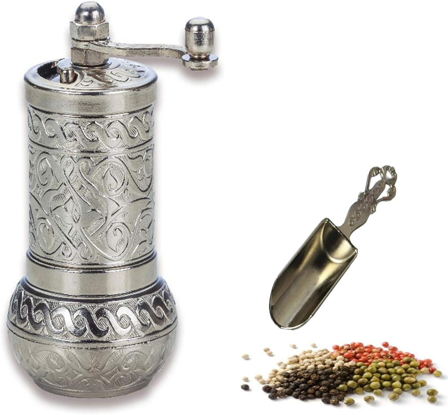 MoonShield Pepper Salt Ranking TOP9 Grinder - Mini Coffee Mill Turkish Translated An