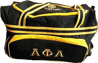 Buffalo Dallas Alpha Phi Alpha Carry-On Luggage Trolley Bag [Black - 25