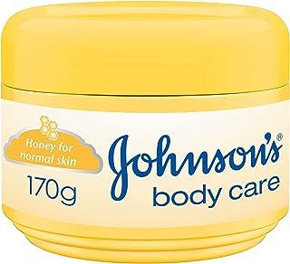 كريم مرطب بالعسل للعناية بالجسم للبشرة العادية من جونسون - 170 جم