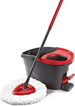Vileda Easy Wring and Clean Microfibre Mop and Bucket with Power Spin Wringer