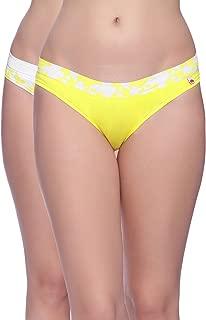 Brag Women's Cotton Bikini Panty (Pack of 2)