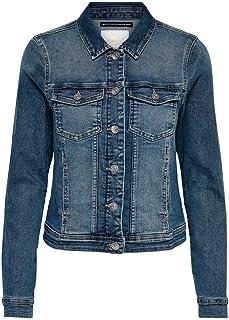 ONLY Women's Jacket (15114138_Medium Blue Denim_XS (34))