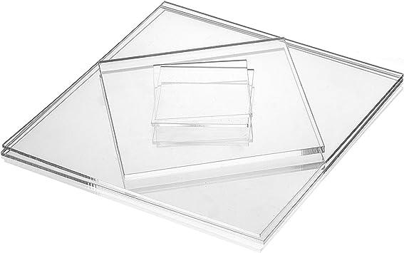 Transparent 2mm im Zuschnitt Acrylgas XT Platten//Acrylglasplatten XT 20 x 10 cm Kunststoffplattenonline.de 200 x 100 mm