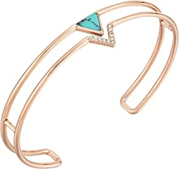 Triangle Open Cuff Bracelet