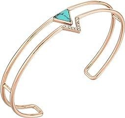Fossil - Triangle Open Cuff Bracelet