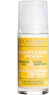 Loccitane Refreshing Aromatic Deodorant by Loccitane for Unisex - 1.7 oz Deodorant Roll-On, 50 ml