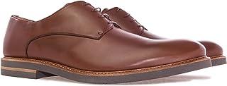 Andres Machado - 6188 - Zapatos Serraje Camel. Hombre. Tallas Grandes 47 a 50. Made IN Spain