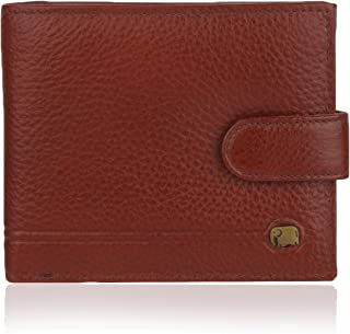 K London Elephantine Multiple Zipper Wallet-14495_brn