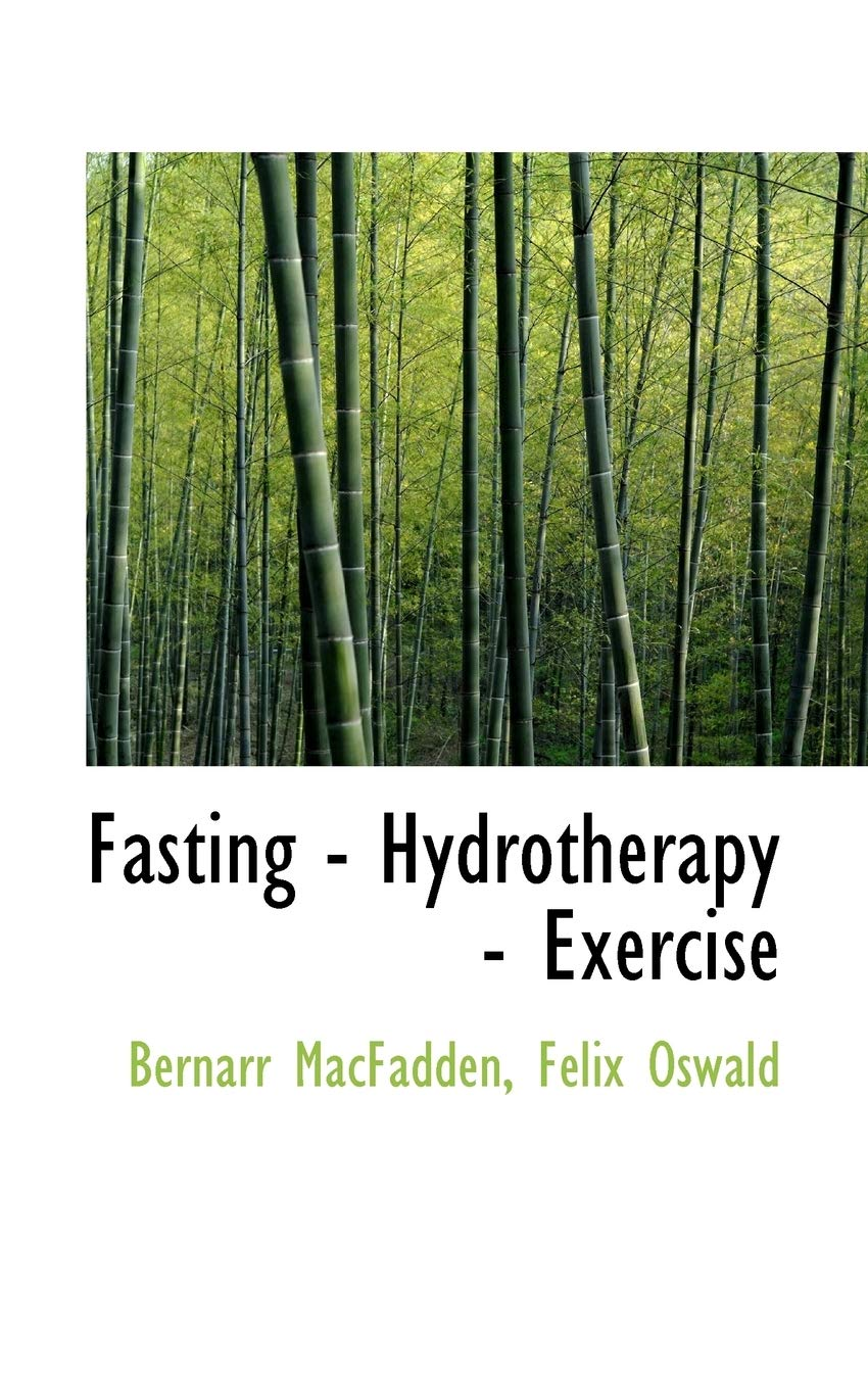 Image OfFasting - Hydrotherapy - Exercise