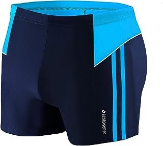 Herren Badehose Schwimmhose 3XL Bis 4XL Enganliegende Bademode Swimming Shorts