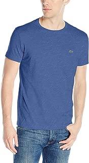 Short Sleeve Pima Jersey Crewneck T-Shirt (8, TOURMALINE CHINE)