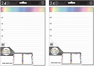 me & My Big Ideas The Happy Planner Bundle: Medium/Classic Note Paper Rainbow Foil (Set of 2)