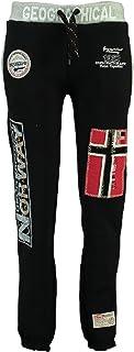 GEO NORWAY MYER Lady - Pantalones Jogging Mujer - Pantalones Deportivos Deporte Fitness Cómoda Cintura Elástica Cordon Cor...