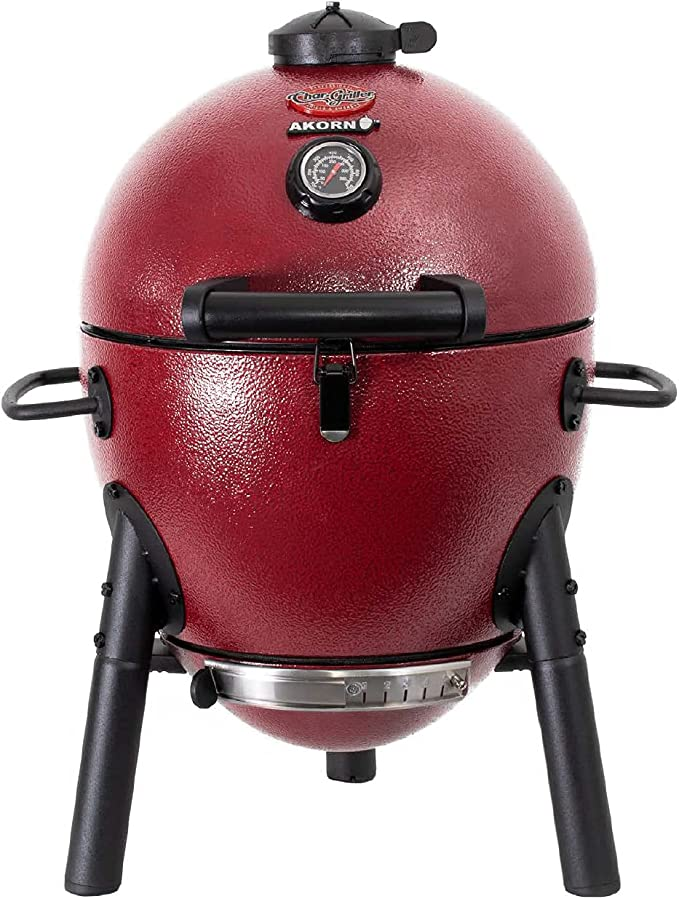 Char-Griller E06614 AKORN Jr. Portable Kamado Charcoal Grill – Best Budget Smoker