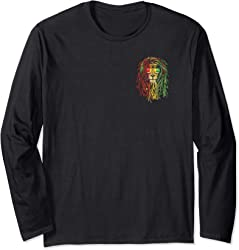 Rasta Lion T-shirt 2-sided