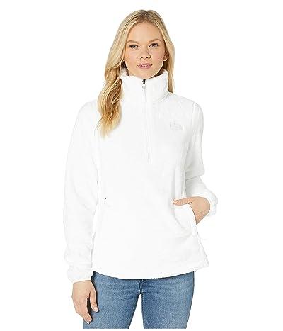 The North Face Osito 1/4 Zip Pullover (TNF White) Women