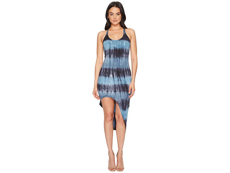 Young Fabulous & Broke Kaydence Dress (Sea Blue Streak) Women