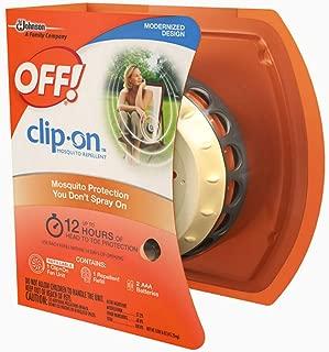 6 Pack - OFF! Clip On Mosquito Repellent Fan Unit 1 ea