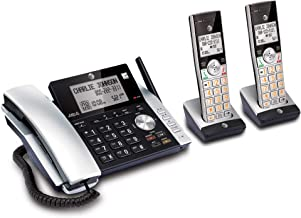 AT&T CL84215 Dect 6.0 Expandable Cordless Phone System W/Digital Answering