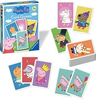 Peppa Pig Little Card Games for Little Hands 4 Games to Play Ages 3+